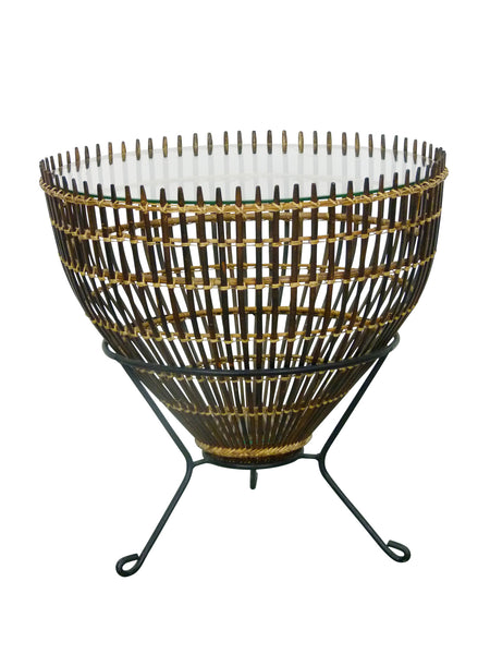 Franco Albini Mid-Century Modern Fish Trap Table 1