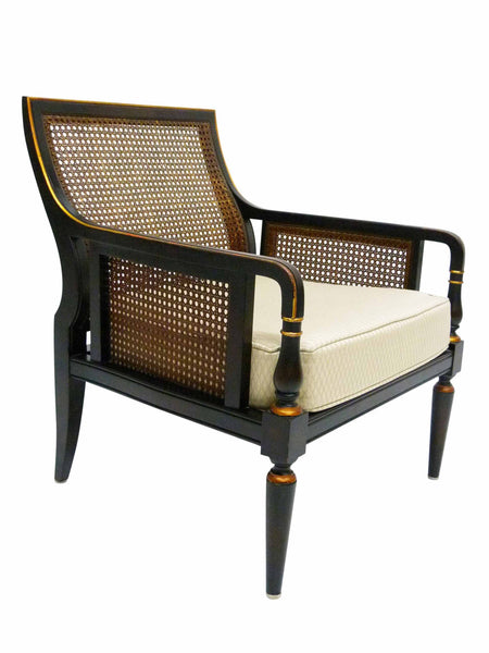 empire lounge chair Baker Furniture 291 Continental Collection 1