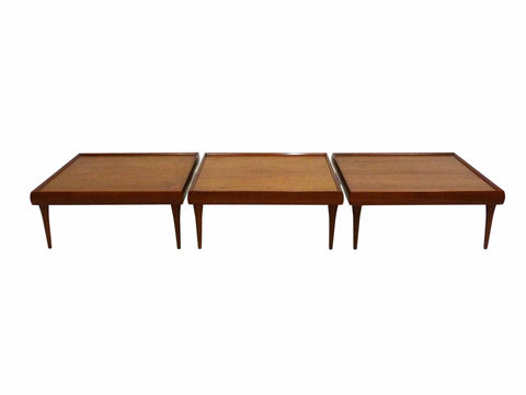 Danish Teak Tables by Bramin 1