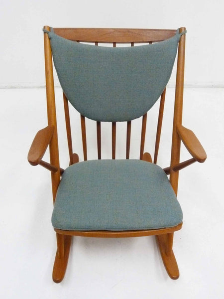Rocking Chair by Frank Reenskaug for Bramin