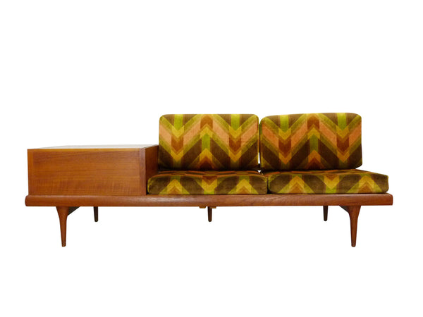 Danish Teak Modular Sofa by Bramin 1