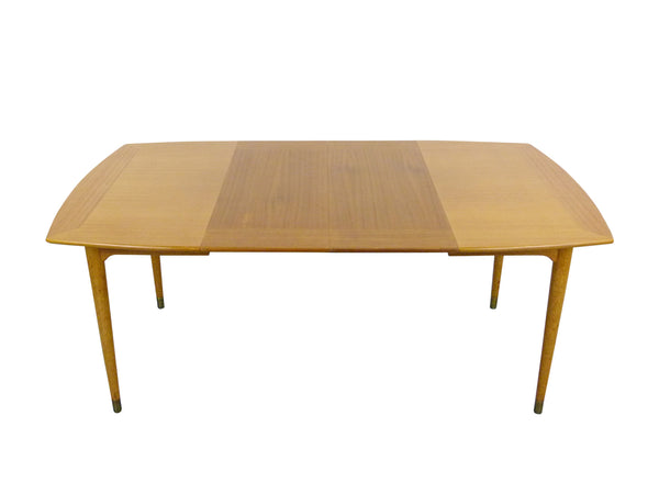 John Keal for Brown Saltman mid-century modern dining table Img 1