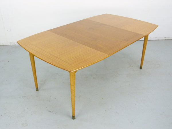 John Keal for Brown Saltman mid-century modern dining table Img 3