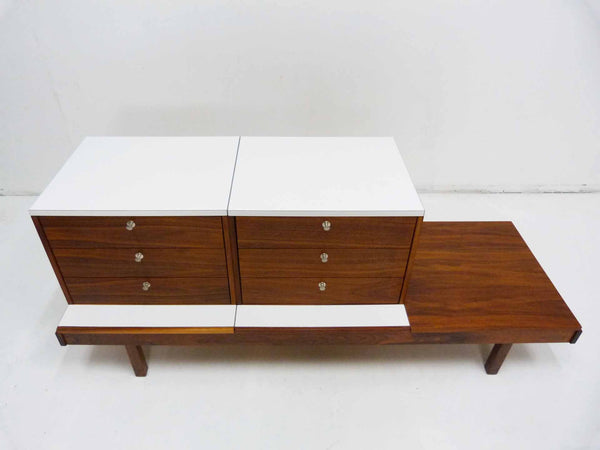 Brown Saltman Martin Borenstein Modular Bench Chest 4