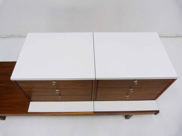 Brown Saltman Martin Borenstein Modular Bench Chest 8