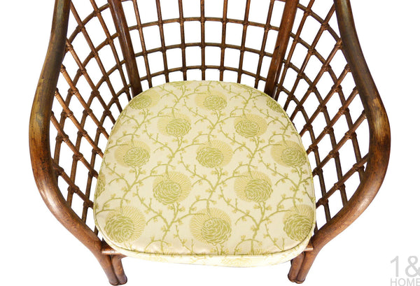 Chinoiserie Fretwork Bamboo Chair