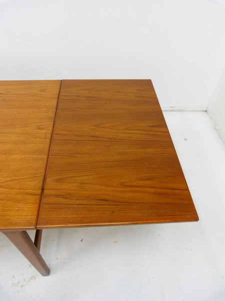 Danish Modern Expandable Teak Dining Table