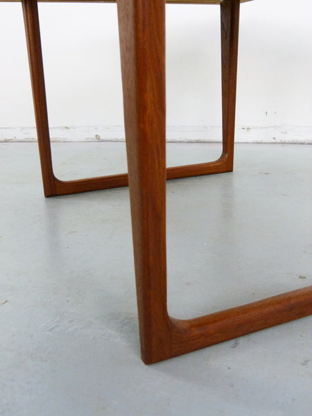 Danish Modern solid teak side end tables Img 8