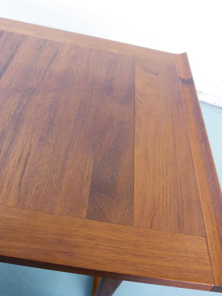 Danish Modern solid teak side end tables Img 9