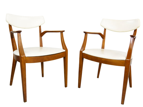 Kipp Stewart Drexel Sun Coast captains dining chairs Mid Century Img 1