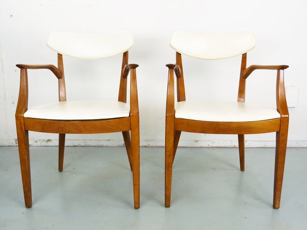 Kipp Stewart Drexel Sun Coast captains dining chairs Mid Century Img 2