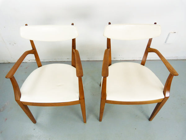 Kipp Stewart Drexel Sun Coast captains dining chairs Mid Century Img 3