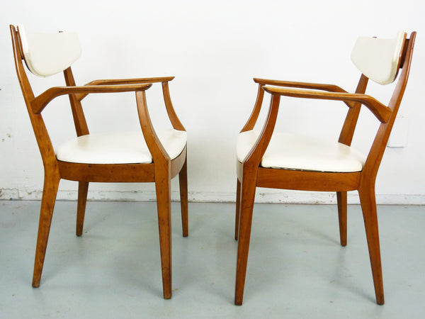 Kipp Stewart Drexel Sun Coast captains dining chairs Mid Century Img 4