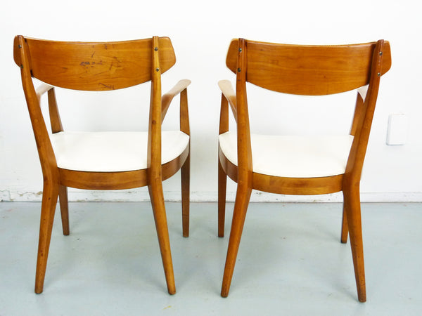 Kipp Stewart Drexel Sun Coast captains dining chairs Mid Century Img 5