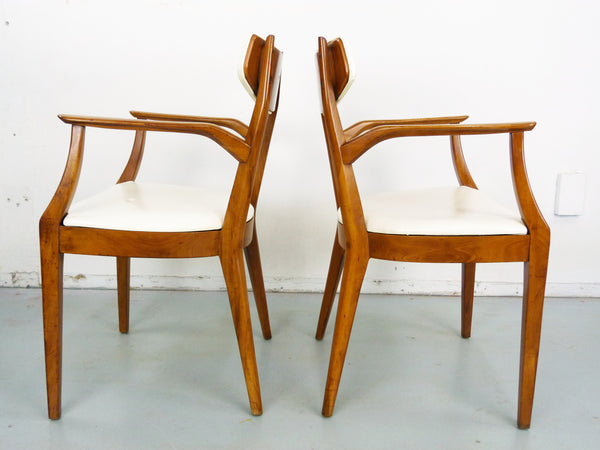 Kipp Stewart Drexel Sun Coast captains dining chairs Mid Century Img 6