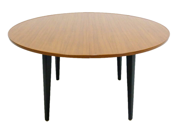 Edward Wormley for Dunbar Round Mahogany Dining Table 1
