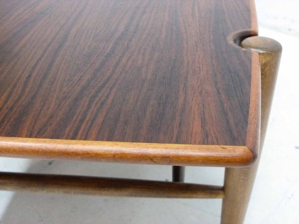 Dux Teak Cane Shelf Coffee Table Folke Ohlsson 8