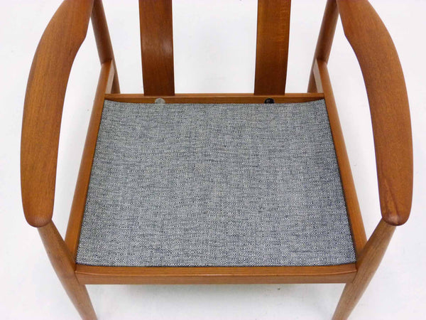 Grete Jalk for France & Son Danish Modern Teak Lounge Chair 10
