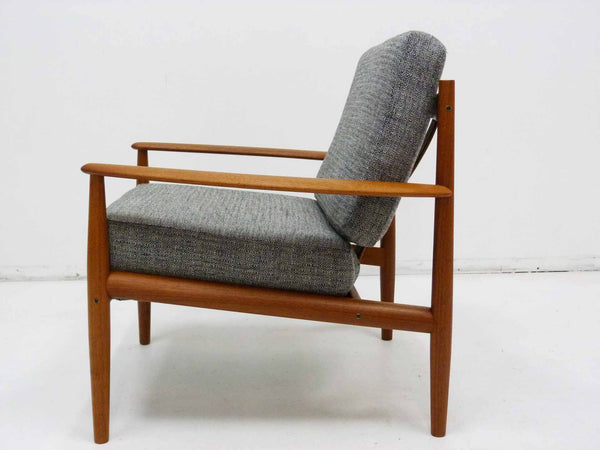 Grete Jalk for France & Son Danish Modern Teak Lounge Chair 3