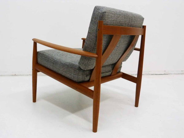 Grete Jalk for France & Son Danish Modern Teak Lounge Chair 4