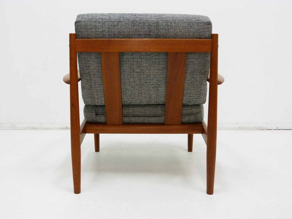 Grete Jalk for France & Son Danish Modern Teak Lounge Chair 5