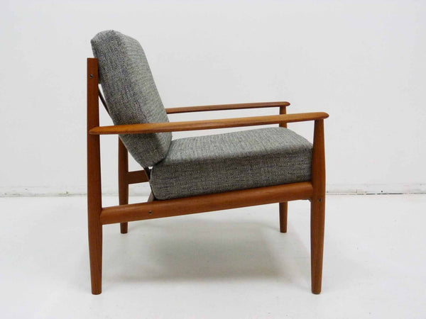 Grete Jalk for France & Son Danish Modern Teak Lounge Chair 6