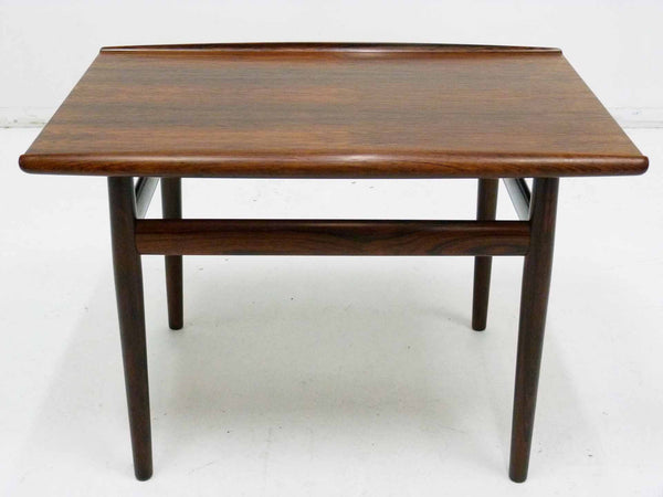Grete Jalk Rosewood Side Table for Glostrup Mobelfabrik
