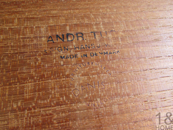 Hans Wegner for Andreas Tuck Teak Nesting Tables