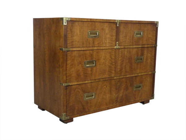 Vintage Henredon Campaign-Style Dresser Chest Img 2