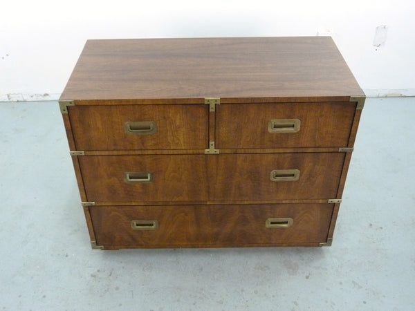 Vintage Henredon Campaign-Style Dresser Chest Img 3