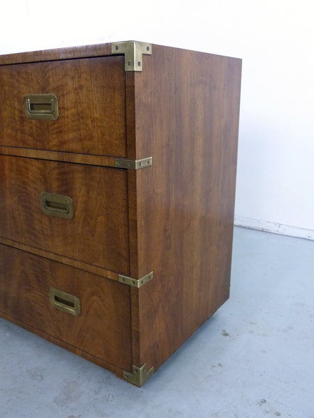 Vintage Henredon Campaign-Style Dresser Chest Img 6