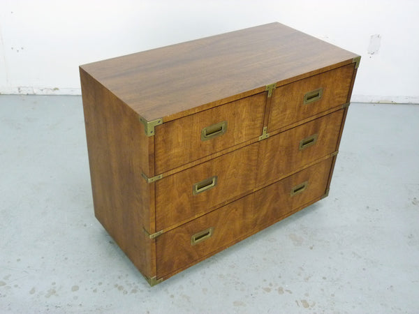 Vintage Henredon Campaign-Style Dresser Chest Img 7