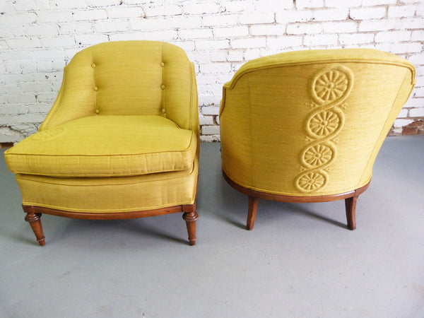 1950s Heritage Morganton Regency Slipper Chairs img2