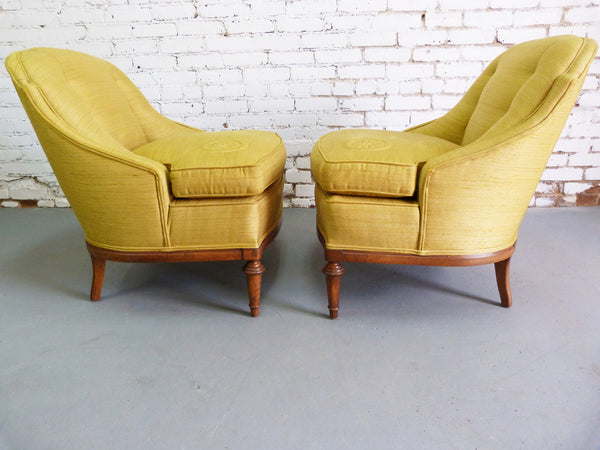 1950s Heritage Morganton Regency Slipper Chairs img3