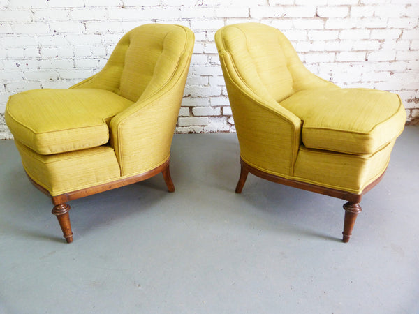 1950s Heritage Morganton Regency Slipper Chairs img4
