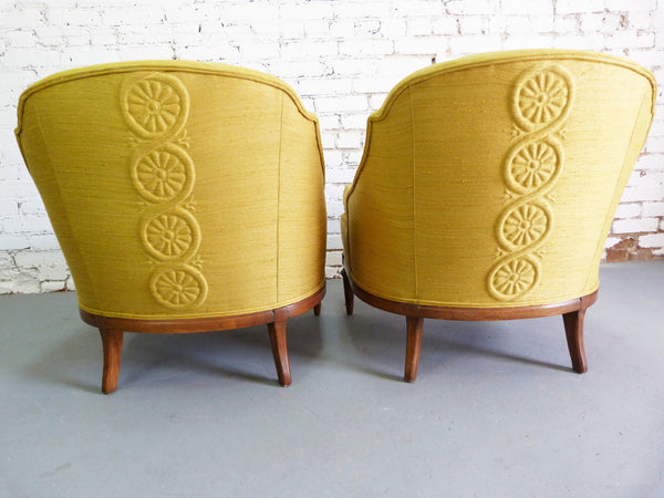 1950s Heritage Morganton Regency Slipper Chairs img5