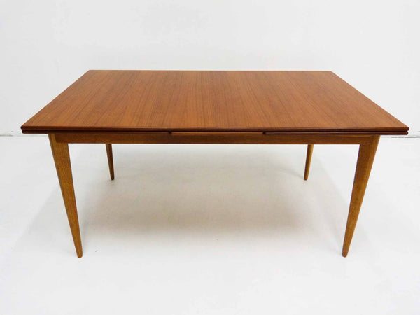 J.O Carlsson Teak Dining Table Front Small
