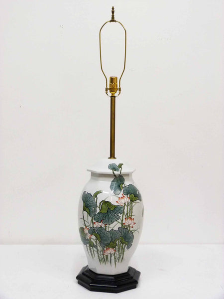 Japanese Ginger Jar Poppy Table Lamp 3