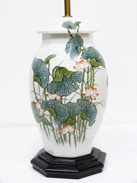 Japanese Ginger Jar Poppy Table Lamp 4