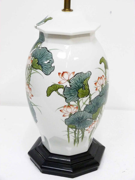 Japanese Ginger Jar Poppy Table Lamp 6