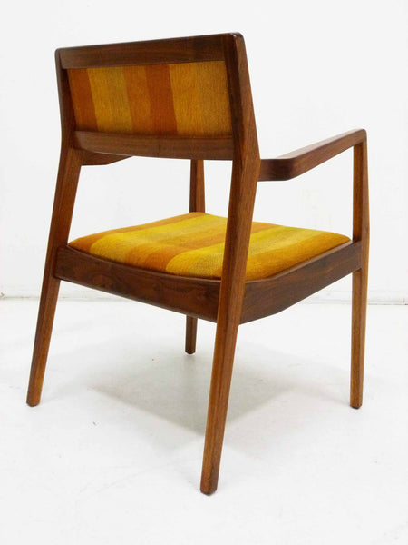 Jens Risom Walnut Playboy Chair C140 C142 Mid Century Danish Modern 5