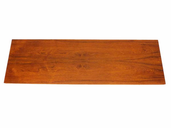 Johannes Aasbjerg Illums Bolighus Danish Modern Teak Sabots Steel Coffee Table 3