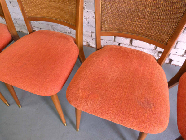 John Widdicomb J. Stuart Clingman Dining Table Chairs Mid-Century Img 9