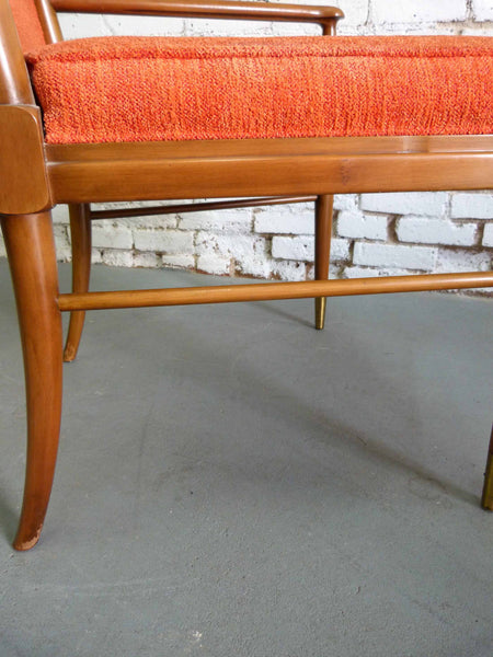 John Widdicomb J. Stuart Clingman Dining Table Chairs Mid-Century Img 10