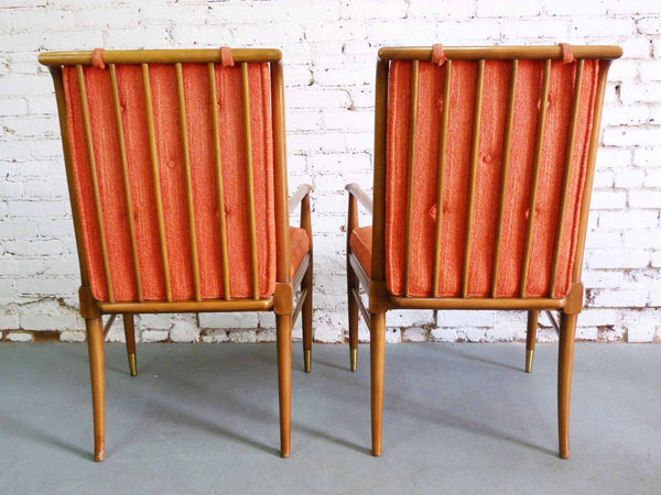 John Widdicomb J. Stuart Clingman Dining Table Chairs Mid-Century Img 4