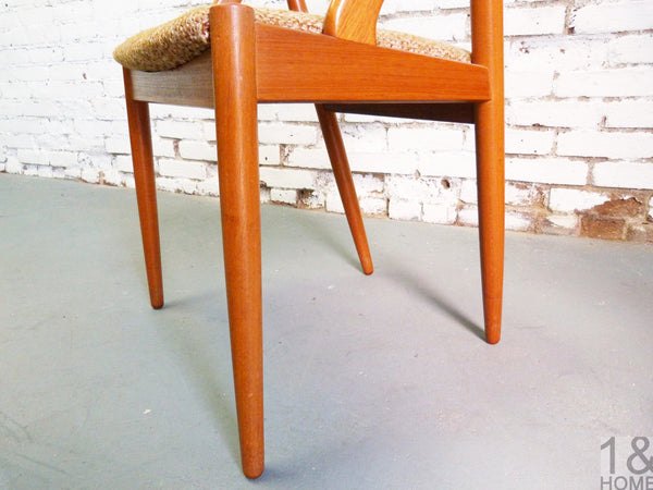 Kai Kristiansen Dining Chairs, S/6 & Danish Table
