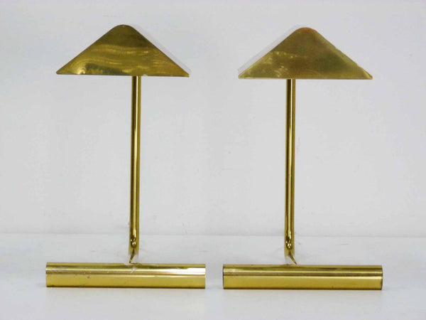Koch Lowy Omni Brass Mid century cantilever articulating desk lamps 4