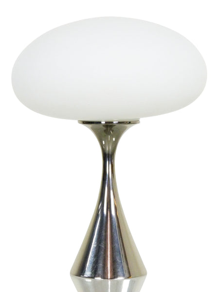 Laurel Chrome mushromm lamp mid-century modern bill curry 1