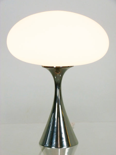 Laurel Chrome mushromm lamp mid-century modern bill curry 3