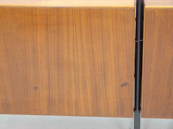Lyby Danish Modern Teak Wall Unit Bookshelf Room Divider 12